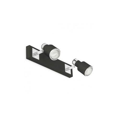 Applique Spots BLAT - noir - 2xGU10 50W - Faro