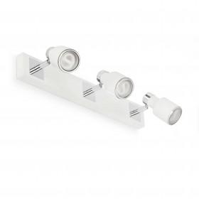 Reglette spots BLAT - blanc - 3xGU10 50W - Faro