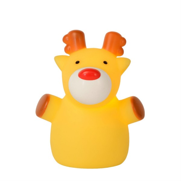 Lampe enfant LED Color Zoo - Elan Jaune - Lucide