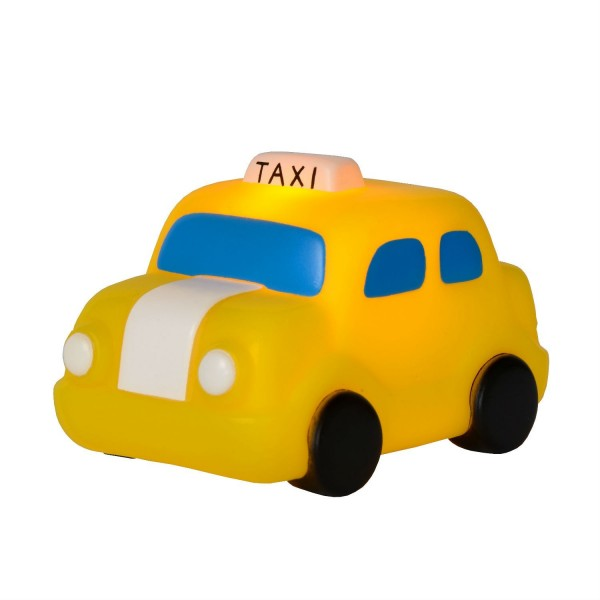 Lampe enfant LED Night Light - Taxi Jaune - Lucide