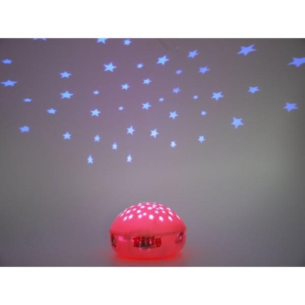 Veilleuse enfant LED à projection - Filly - Niermann