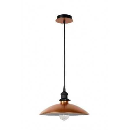 Suspension BISTRO - cuivre - Ø32cm- Lucide