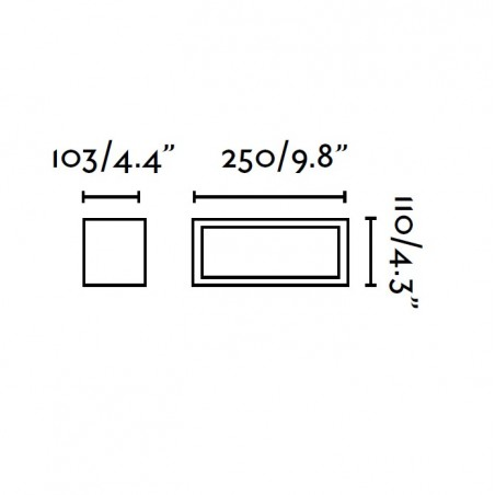 Applique extérieur TEJO - IP54 - 20W - Faro