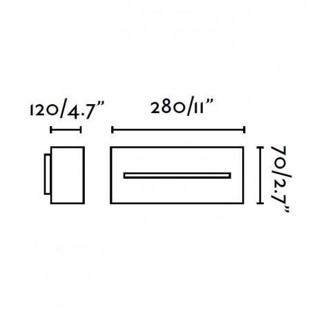 Applique extérieur WEST-1 - IP54 - Faro