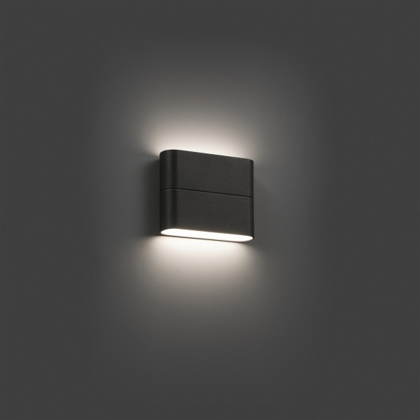 Applique ext rieur led aday 1 faro luminaire discount - Luces de pared exterior ...