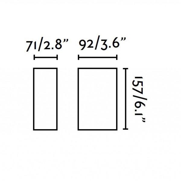 Applique exterieur LING - LED - 6W - Faro