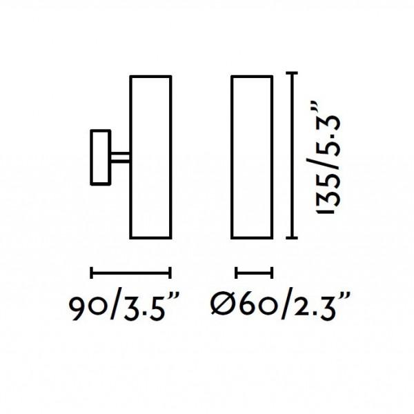 Applique exterieur COBO - LED - 12W - Faro