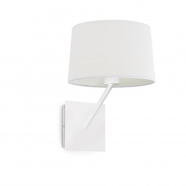Applique HANDY - tissu blanc / métal - Faro