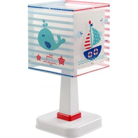 Lampe de chevet enfant PETIT MARIN - H29cm - PVC - Dalber