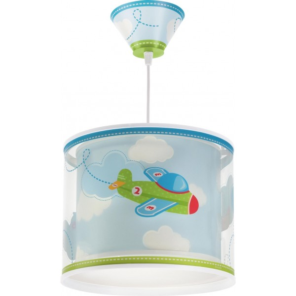 Suspension enfant BABY PLANES - Ø26cm - PVC - Dalber