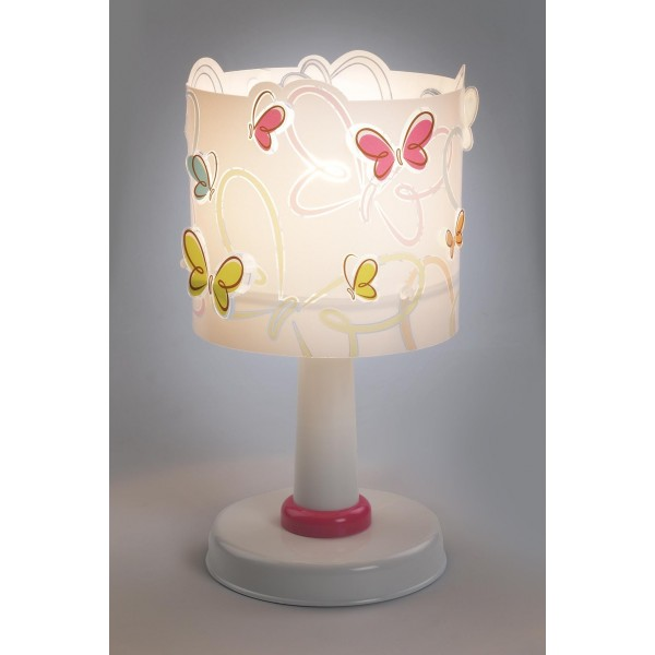 Lampe enfant BUTTERFLY - H29 cm - PVC -Dalber