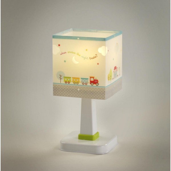 Lampe enfant THE NIGHT TRAIN - H26cm - PVC - Dalber