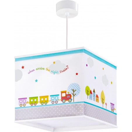 Suspension enfant THE NIGHT TRAIN - H22cm - PVC - Dalber