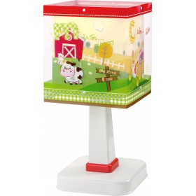 Lampe enfant MY LITTLE FARM - H26cm - PVC - Dalber