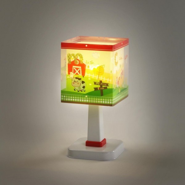 Lampe enfant MY LITTLE FARM - H26cm - PVC - Dalber