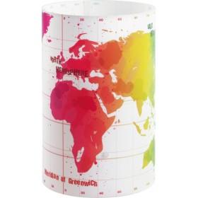 Lampe enfant MAP - H23 cm - PVC - Dalber