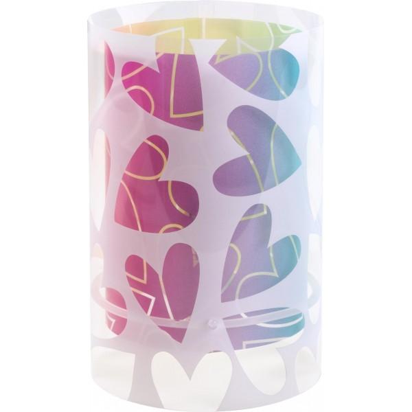 Lampe enfant CUORE - H23cm - PVC - Dalber