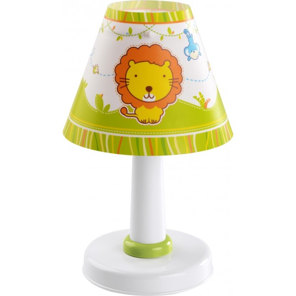 Lampe enfant LITTLE ZOO - H26cm - PVC - Dalber
