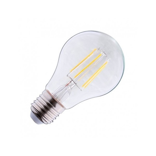 Ampoule LED E27 6W 4000°K - Bulb - Clair - Vision-EL