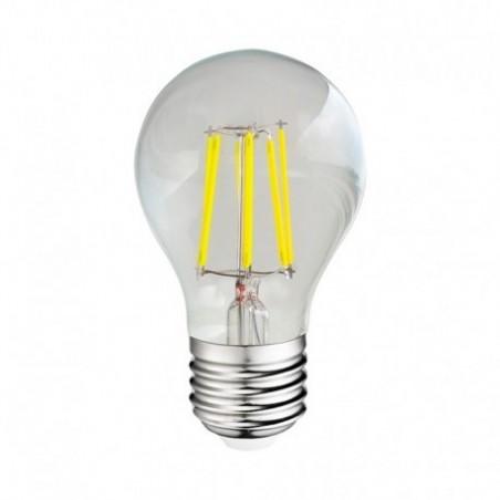 Ampoule LED E27 8W 2700°K - Bulb - Clair - Vision-EL