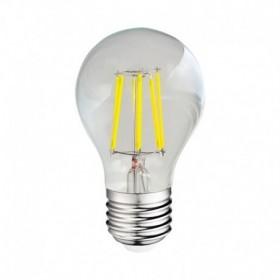 Ampoule LED E27 8W 4000°K - Bulb - Clair - Vision-EL