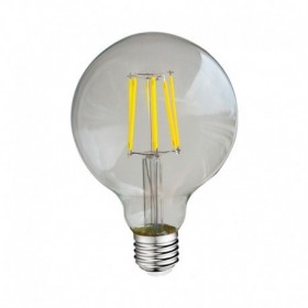 Ampoule LED E27 8W 4000°K - G95 - Clair - Vision-EL