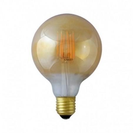 Ampoule LED E27 8W 2700°K - G95 - Golden - Vision-EL