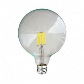 Ampoule LED E27 8W 3000°K - G125 - Clair - Vision-EL