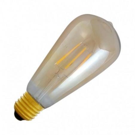 Ampoule LED E27 8W 2700°K - ST64 - Golden - Vision-EL