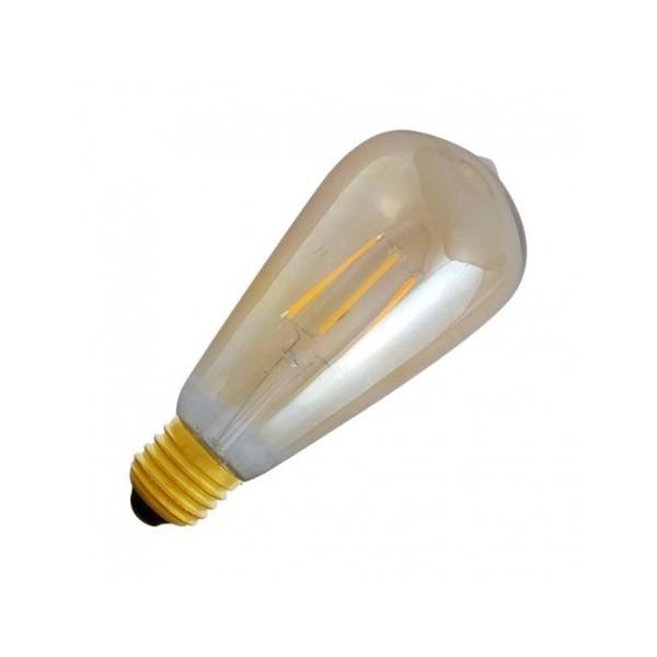 Ampoule LED E27 8W 4000°K - ST64 - Golden - Vision-EL