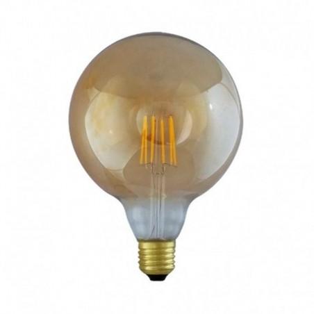 Ampoule LED E27 8W 2700°K - G125 - Golden - Dimmable - Vision-EL
