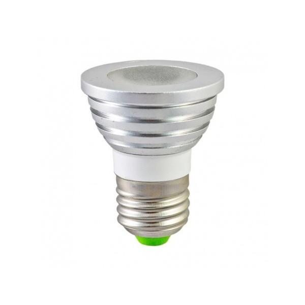 Ampoule LED E27 3W RGB + Télécommande - Vision-EL