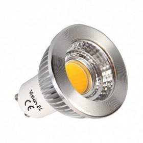Ampoule LED GU10 5W 2700°K - Dimmable 75° BOI - Vision-EL