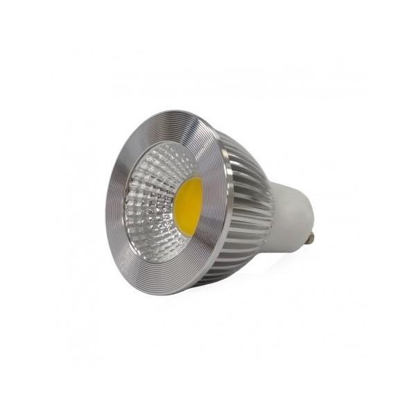 Ampoule LED GU10 6W 2700°K - Dimmable 75° BOI - Vision-EL