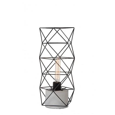 Lampe à poser Rumico - Noir - H42 cm - Lucide