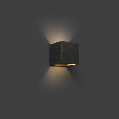 Applique Kamen – Gris – H11,5 cm – Faro