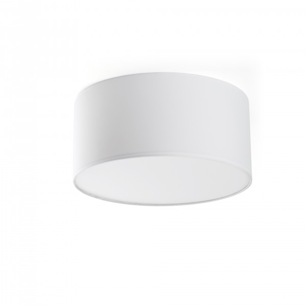 Plafonnier SEVEN - Blanc - Ø40 cm - Faro