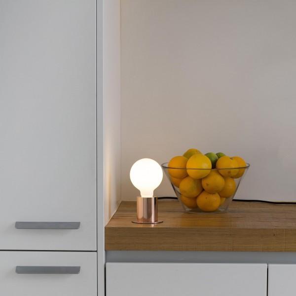 Lampe de table TEN - Cuivre - Ø9 cm - Faro
