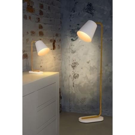 Lampadaire Cona – Blanc – H140 cm – Lucide
