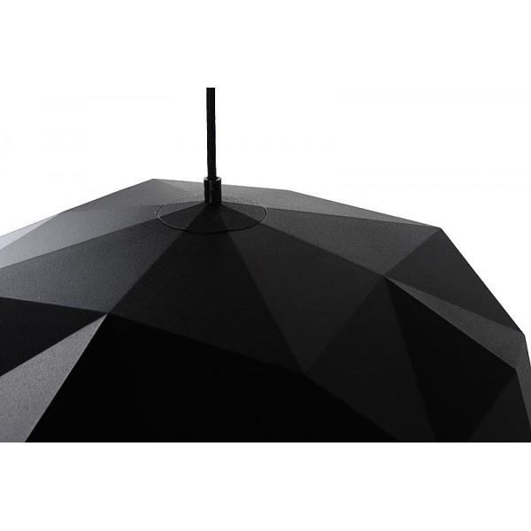 Suspension Geometry – Noir – Ø60 cm – Lucide