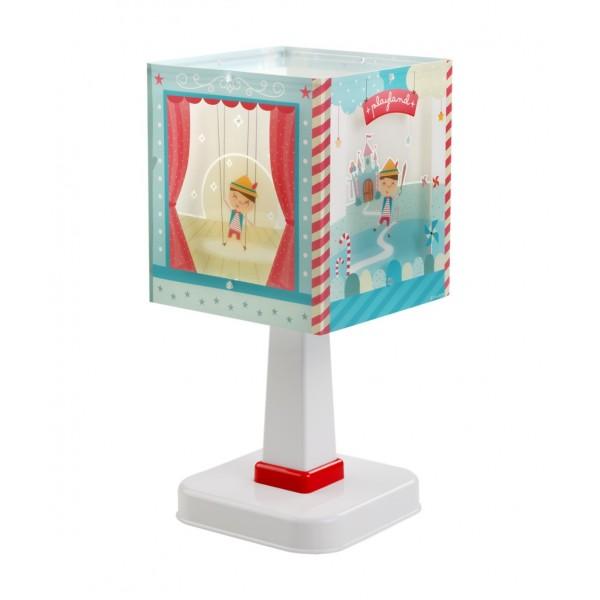 lampe chevet enfant pinocchio dalber luminaire discount. Black Bedroom Furniture Sets. Home Design Ideas