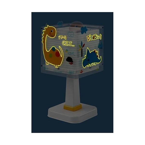 Lampe de chevet enfant Dinos – H29 cm – Dalber