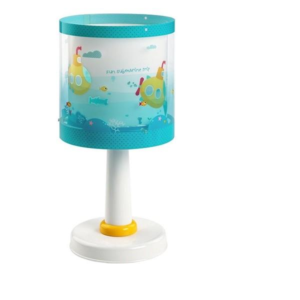 lampe chevet enfant submarine h30cm dalber luminaire discount. Black Bedroom Furniture Sets. Home Design Ideas