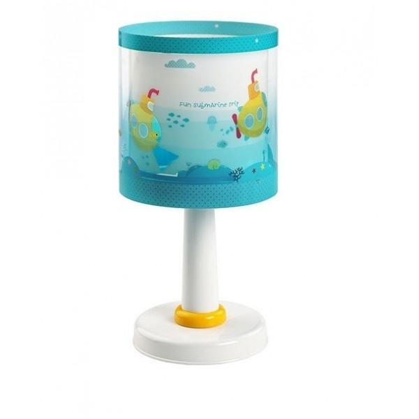 Lampe de chevet enfant Submarine – H30 cm – Dalber