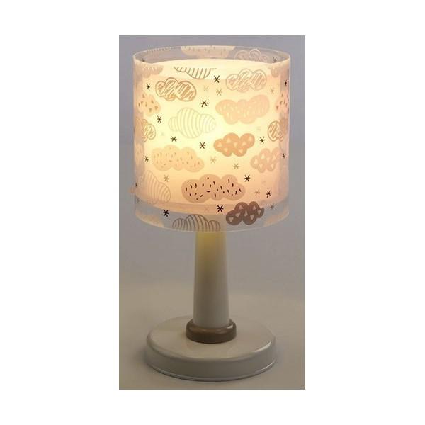 Lampe de chevet enfant Clouds – Rose – H30 cm – Dalber