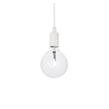 Suspension Edison – Blanc – Métal – Ideal-Lux