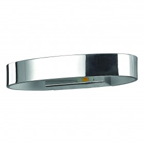 Applique Zed Ovale – Chrome – LED 5W – Ideal-Lux