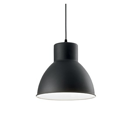 Suspension Metro – Noir – 27,5 cm – Ideal-Lux