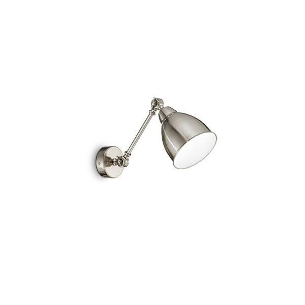 Applique NEWTON - Nickel - Ø30 cm - Ideal-Lux