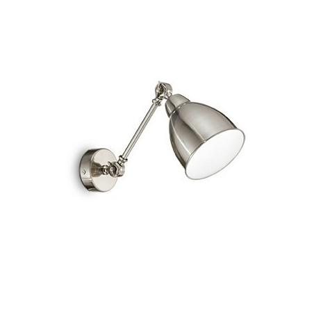 Applique Newton – Nickel – Ø30 cm – Ideal-Lux